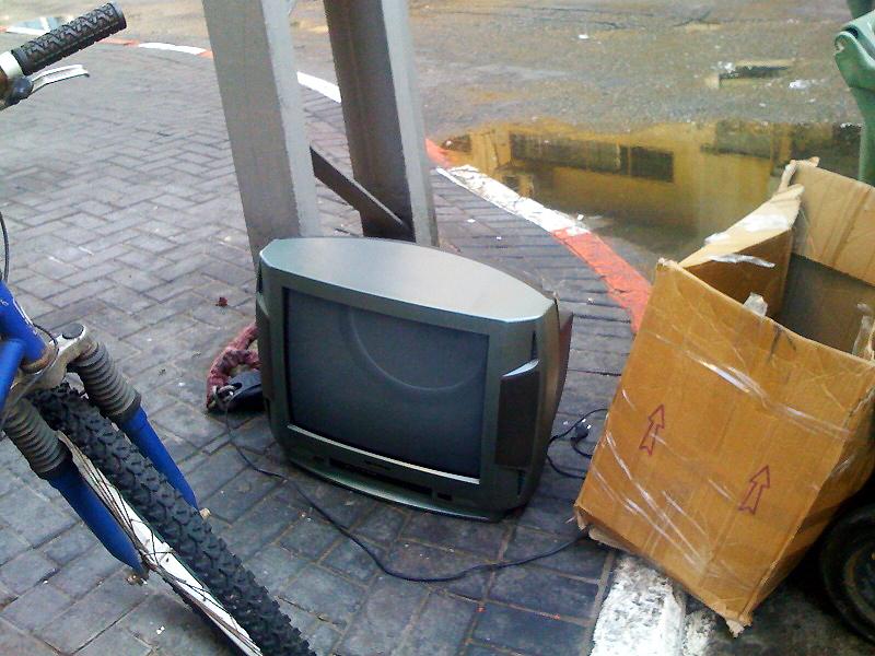 Телевизоры падают с неба